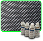 Silver Carbon Fiber - Do It Yourself Camo Dip Kits