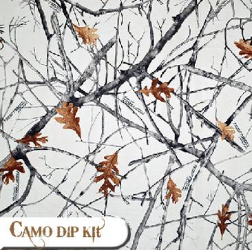 Camo skinz camo truck kits wraps camo dip kits vinyl accent kits snowfall do it yourself camo dip kit snowfall solutioingenieria Gallery