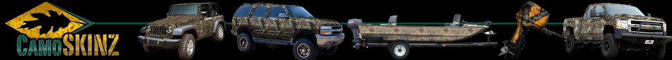 CamoSkinz - Camo Kits and Camo Dip Kits for Trucks, ATVs, SUVs and Hunting Vehicles